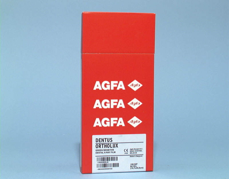 AGFA ORTHO CP-G PLUS 12,7X30,5 CM 100DB